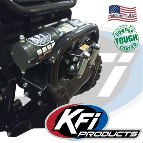 honda pioneer winch mount honda pioneer 500 winch mount kfi atv winch mounts and