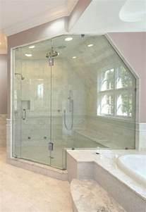 angled glass shower doors shower doors for angled ceilings door panel shower