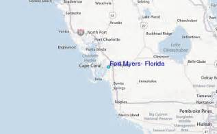 florida fort myers map fort myers florida tide station location guide