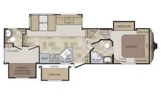 Cougar 5th Wheel Floor Plans by 2015 Cougar 293sab Floor Plan 5th Wheel Keystone Rv