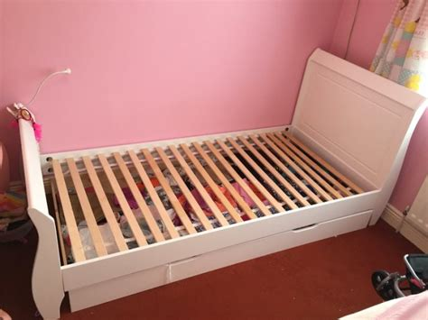 White Single Sleigh Bed White Sleigh Single Bed With Storage For Sale In Lucan Dublin From Hupee
