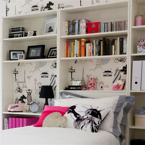 Girls Bedroom Storage Ideas Add Clever Storage Transform A Teenage Girl S Bedroom In
