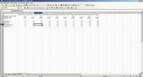 Homebrew Spreadsheet by Homebrew Spreadsheet Laobingkaisuo