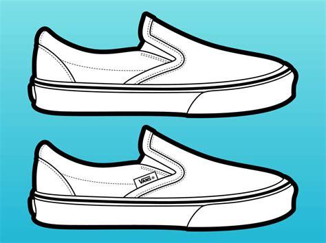 shoes vector vans shoes vector vector graphics freevector