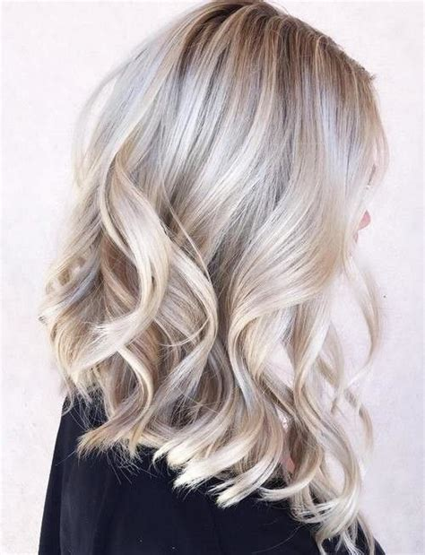 silver hair with blonde highlights bleached pictures of picture of silver grey highlights on blonde hair waves