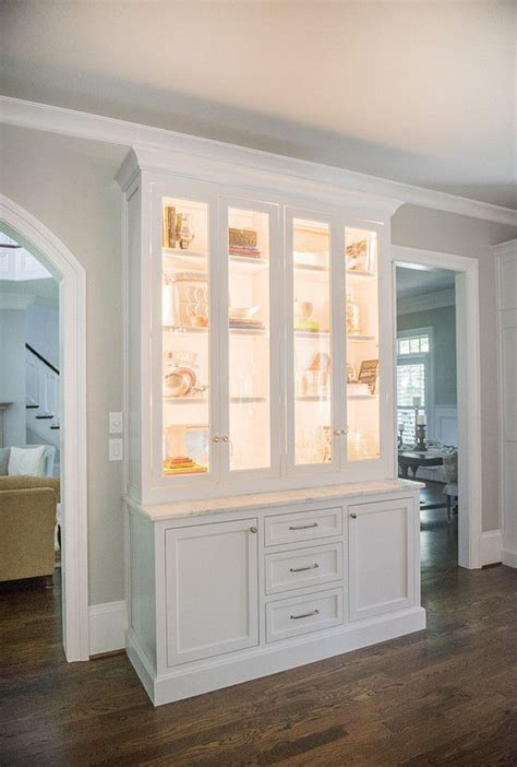 in wall china cabinet 25 best ideas about china cabinet display on