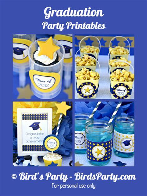 free printable graduation party decorations graduation free printable kit updated party ideas