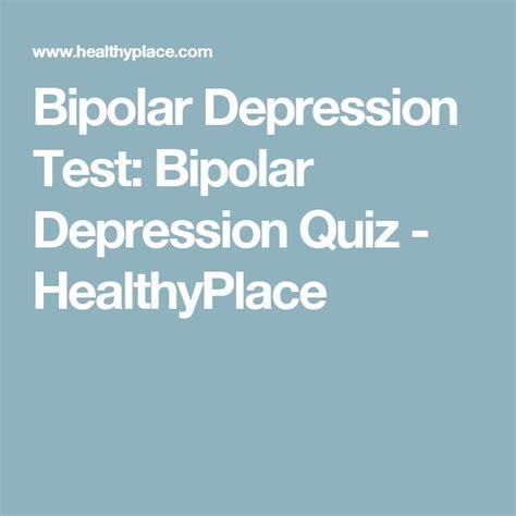 depressione bipolare test die besten 25 depression quiz ideen auf