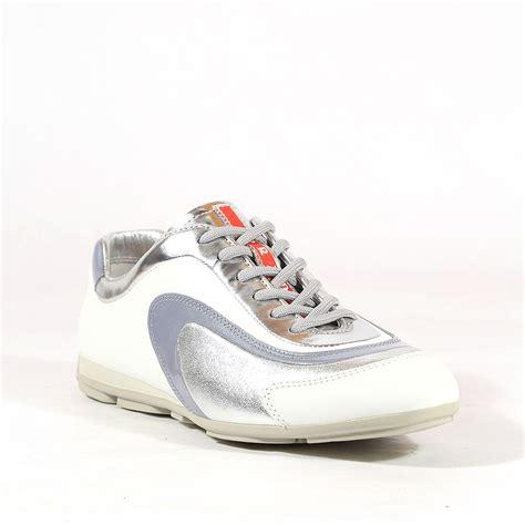 womens prada sneakers prada shoes for white silver sneakers 3e4709 kprw67