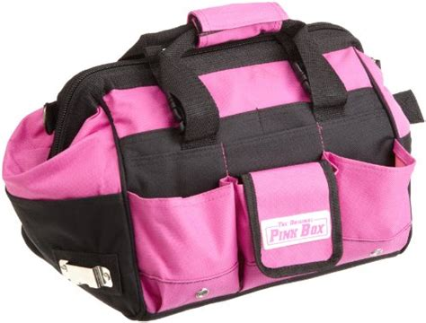 Hair Style Tools Bag For Drills by The Original Pink Box Pb12tb 12 Inch Tool Bag Pink