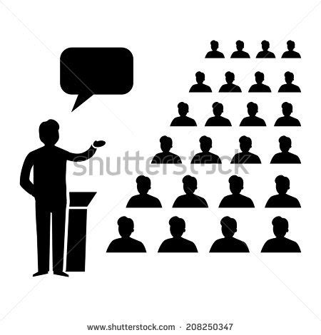icon design conference vector flat design business conference room stock vector