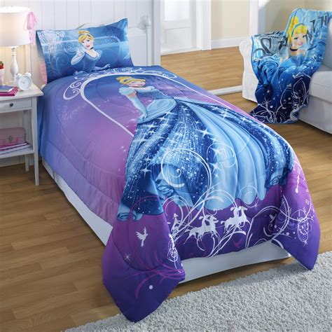 Disney Cinderella Twin Full Comforter Cinderella Bedding Set
