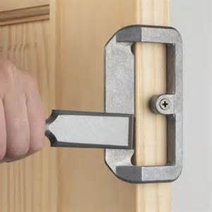 wood door lock installation kits tools irwin tools