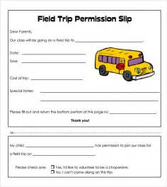 field trip announcement template slip template 9 free documents in pdf word