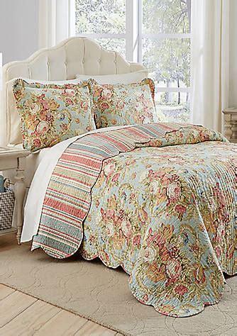 waverly spring bling comforter waverly 174 spring bling reversible bedspread set belk