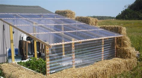 Making A Very Low Cost Greenhouse Out Of Straw | making a very low cost greenhouse out of straw page 2