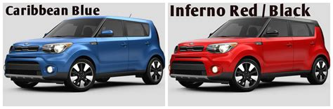 Kia Soul Paint 2017 Kia Soul Exterior Paint And Interior Color Options