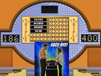 Family Feud Powerpoint Game Show Template By Teacher Stuff 123 Tpt Powerpoint Show Templates Family Feud
