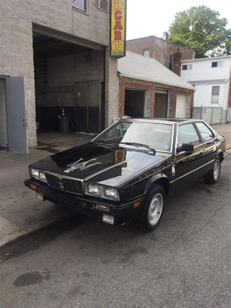 1985 maserati biturbo for sale 1985 maserati biturbo 1985 for sale 48 k miles maserati