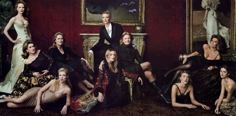The Vanity Fair by Leibovitz Three Is Not A Crowd Construction Dairy