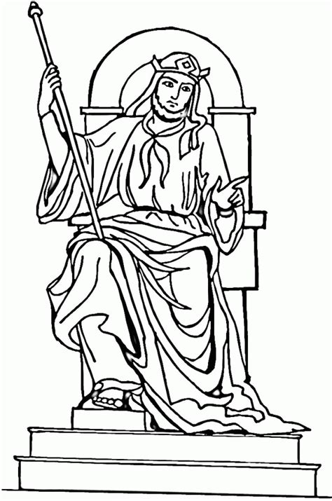 king saul coloring pages coloring home