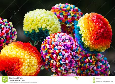 paper flowers stock images image 35690044