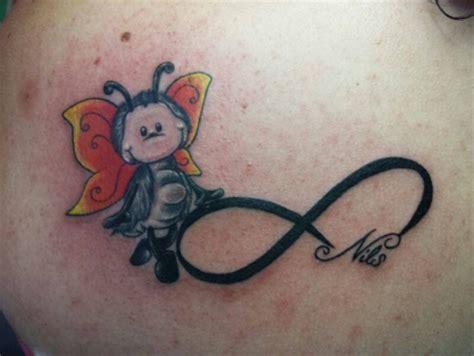 tattoo tribal rücken unendlichkeit tattoo unendlichkeitssymbol mit name