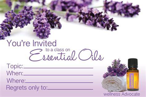 Doterra Class Invite Pdf Inviview Co Doterra Invite Template