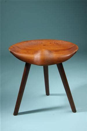 three legged stool of lobbying stool designed by mogens lassen denmark 1950 s home