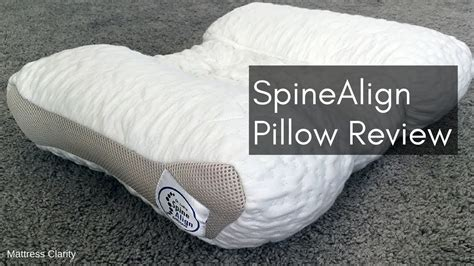 best pillow for back sleepers spinealign pillow review best pillow for back and side
