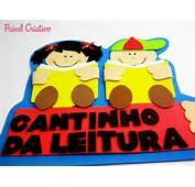 Mural Plaquinha Escolar Cantinho Leitura Alunos Aducacao Infantil 3