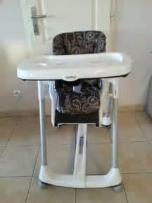 chaise haute prima pappa diner peg perego avis test