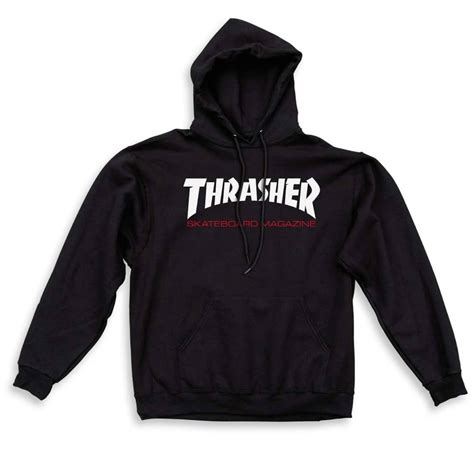 Sweater Element Skate For 2 Zalfa Clothing thrasher two tone skate mag hoodie black skate