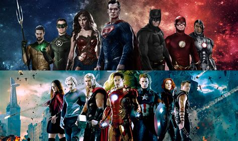 film marvel dan dc 20 film superhero marvel vs dc yang dirilis 2017 sai 2020