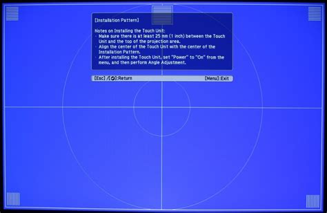 test pattern epson epson brightlink 696ui projector review interactivity