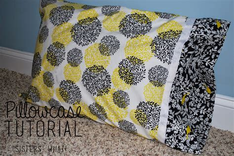 Handmade Pillow Cases - pillowcase tutorial handmade what