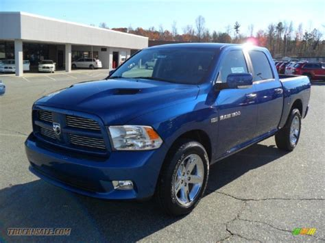 blue dodge ram 1500 for sale 2011 dodge ram 1500 sport crew cab in water blue