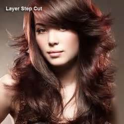 step cut hairstyle pictures different haircuts layered hair styles with pictures