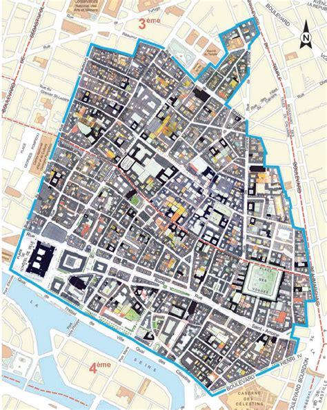 marais map discover the best marais map produced