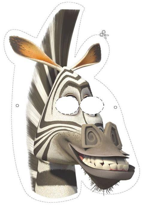 free printable zebra mask how to craft marty the zebra mask hellokids com