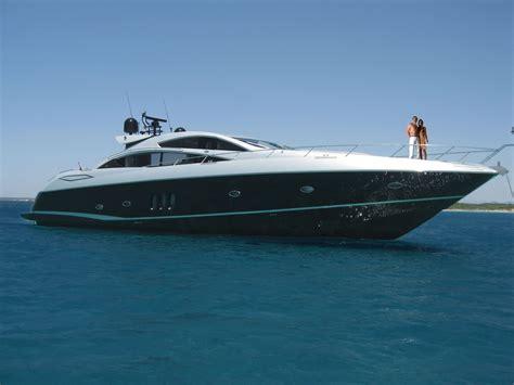 Silver Sofa Table Clarity Yacht Charter Sunseeker Predator 82