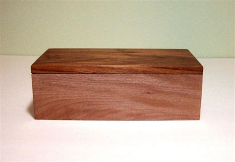 Handcrafted Boxes - handmade wooden jewelry box by tkfindz contemporary