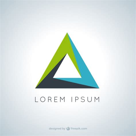 triangle pattern logo triangle logo vectors photos and psd files free download