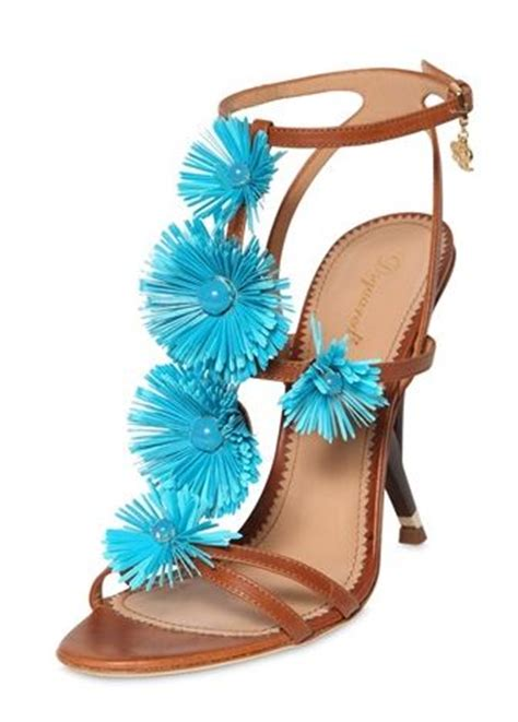 dsquared sandals dsquared 110mmm flowery leather sandals gt shoeperwoman