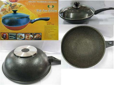 Kompor Wok jual wok pan murah kitchen pan 32cm pusat jual