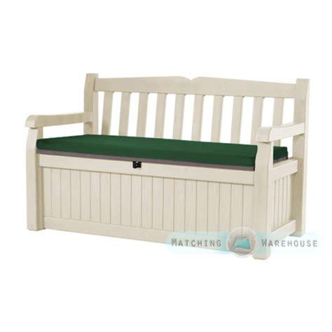 eden garden bench waterproof bench cushion for keter iceni eden garden