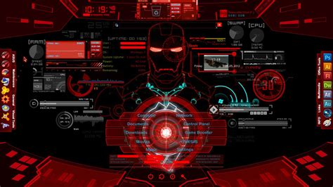 live wallpaper for pc iron man iron man jarvis live wallpaper wallpapersafari
