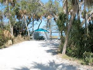 Fort desoto has one of the few beach campgrounds on the west coast of