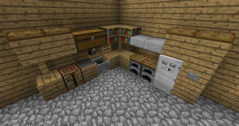 minecraft kitchen furniture kitchen and minecraft ideas