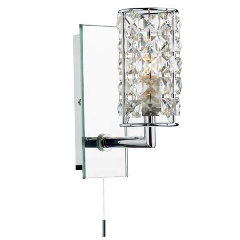 Dar Bathroom Lighting Rho0750 Bathroom Wall Light Dar Chrome Bathroom Light